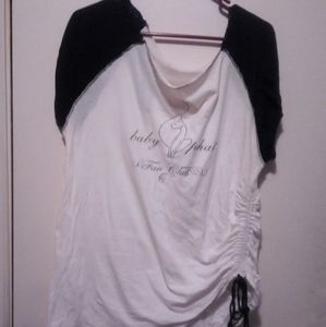 woman baby phat top size 1X preown